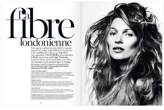 Vogue Paris August 2013: The London