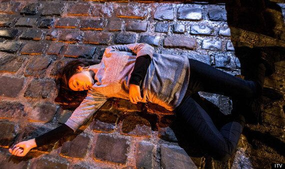 'Coronation Street': Michelle Keegan's Character, Tina McIntyre, Lies Motionless In The Street After...