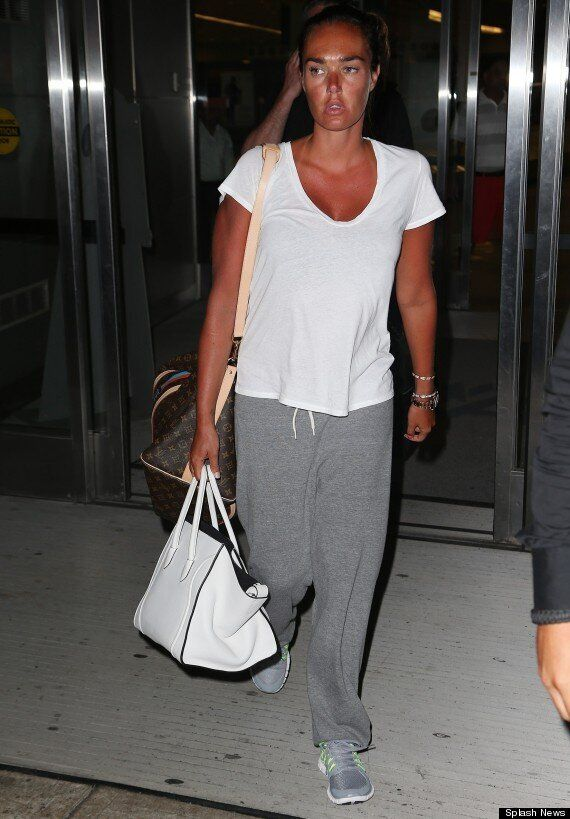 Tamara Ecclestone Looks Like She's Had A Little Too Much Sun As She Arrives Back From Holidaying In The...