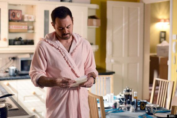 EastEnders Spoiler: Danny Dyer Makes Himself At Home In The Vic In Pink Dressing Gown