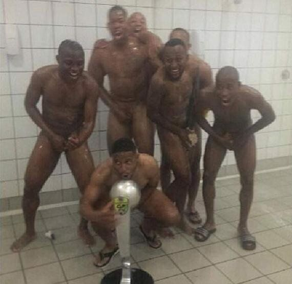 South African Team Orlando Pirates Sorry For Nude Trophy