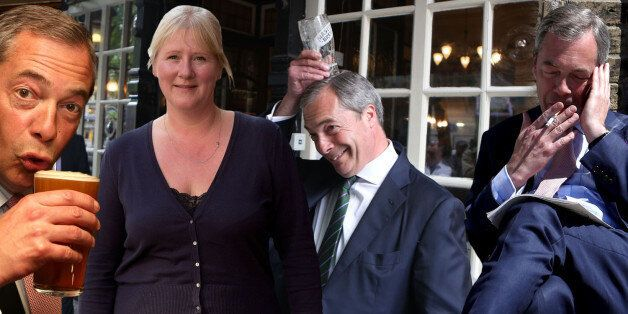Nigel Farage's Wife, Kirsten, Says Ukip Leader Doesn't Have A 'Bad Bone In His Body'... But He Smokes...