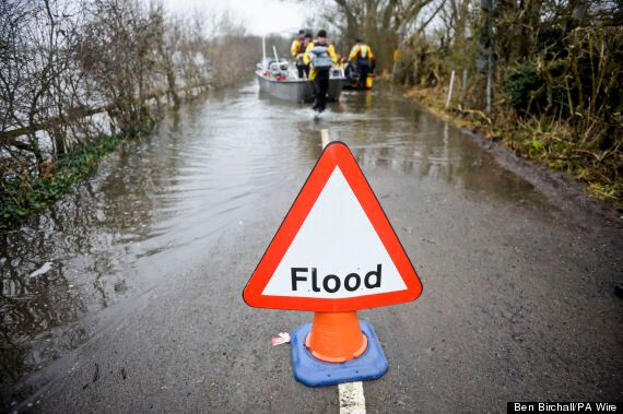 Flooding In East Of England Predicted As Met Office Forecasts Heavy