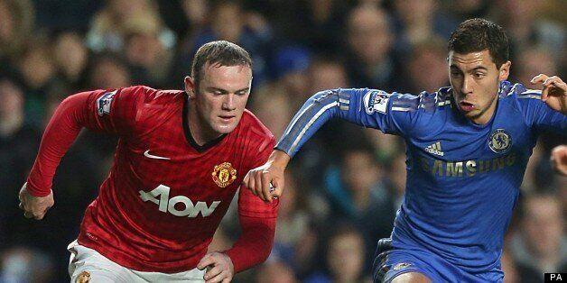 Eden Hazard Wants Manchester United Striker Wayne Rooney At