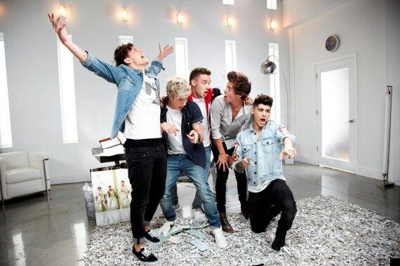 One Direction 'Best Song Ever' Teased As Niall Transforms Into Old Man For Music Video (PICS,