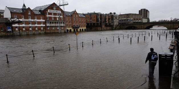 The UK has been blighted by flooding in the days before