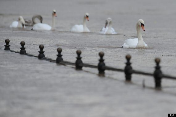 UK Weather: Britons Face Christmas Day In Flooded Homes And Without Power