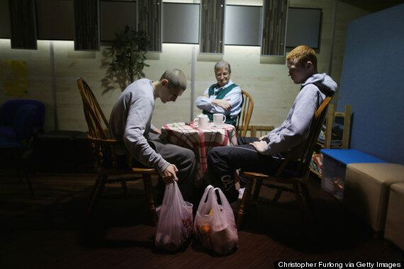 Christmas Food Bank Use Triples In One