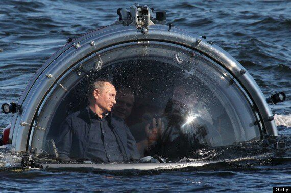 Vladimir Putin Boards A Submarine To Visit A Shipwreck And Isn't Scared One Jot