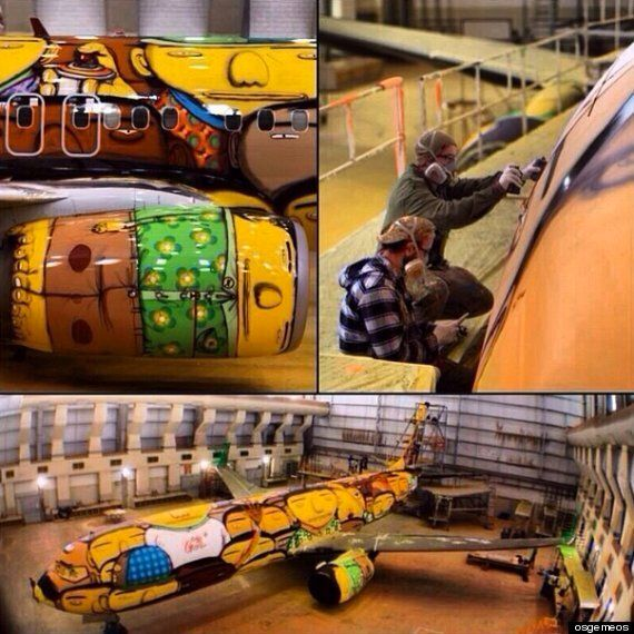 World Cup 2014: Brazil Reveal Crazy And Colourful Plane
