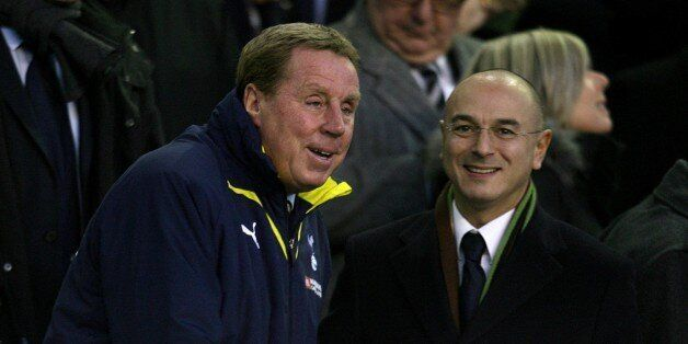 Tottenham Hotspur Chairman Daniel Levy (right) and manager Harry Redknapp (left) in the