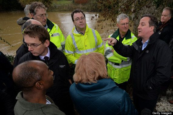 David Cameron Confronted By Angry Flood Victim During Yalding Village