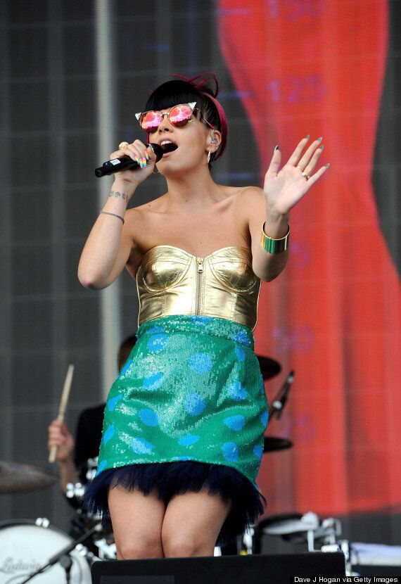 Lily Allen Gyrates Topless To Drake Song In Instagram Video Captioned 'Cool Mum'