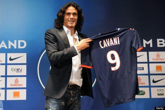 Edinson Cavani Completes £55.5m PSG Transfer