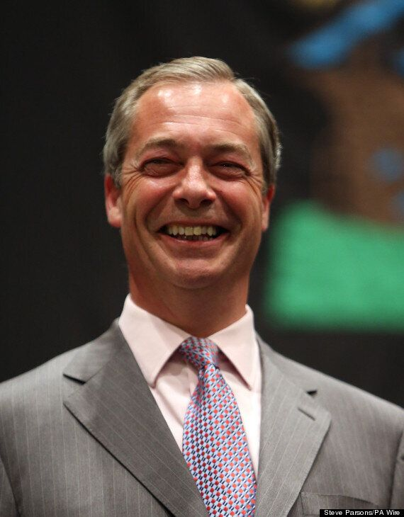 UKIP Leader Nigel Farage Branded A 'Total B***end' By Luisa Zissman In Her Latest