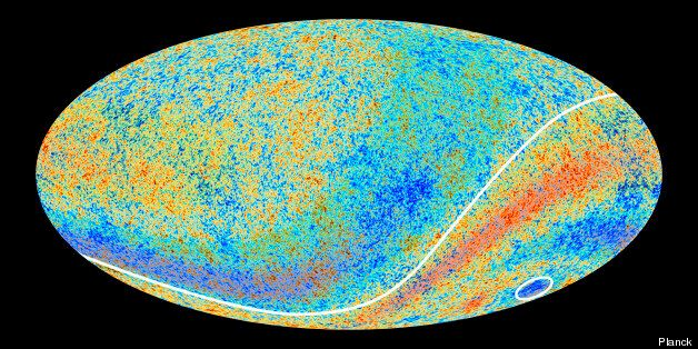 The most recent Planck survey showed evidence of anomalies in space - but no Dark