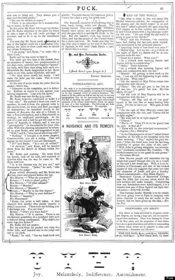 Emoticons First Appeared In 1881 Edition Of Puck