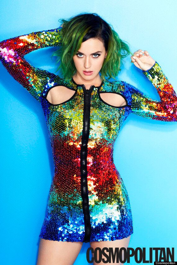 Katy Perry Becomes Cosmopolitan's First Ever Global Cover Star