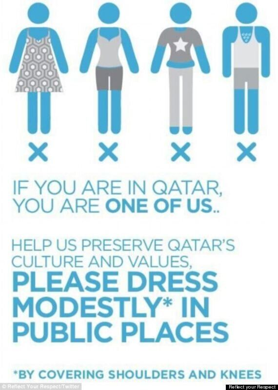 'Leggings Are Not Pants' Qatar's New Modesty Campaign Aimed At