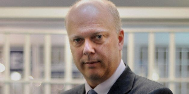 File photo dated 29/04/13 of Justice Secretary Chris Grayling who has confirmed that four more prison...