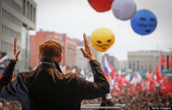 Alexei Navalny, Russia Protest Leader, Mocks Up Judge As Satanic Leader During