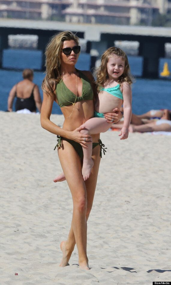 Abbey Clancy Enjoys Dubai Holiday With Daughter Following 'Strictly Come Dancing' Win