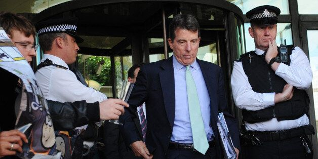Former Barclays chief executive Bob Diamond, leaves after giving evidence to the Treasury Select Committee...