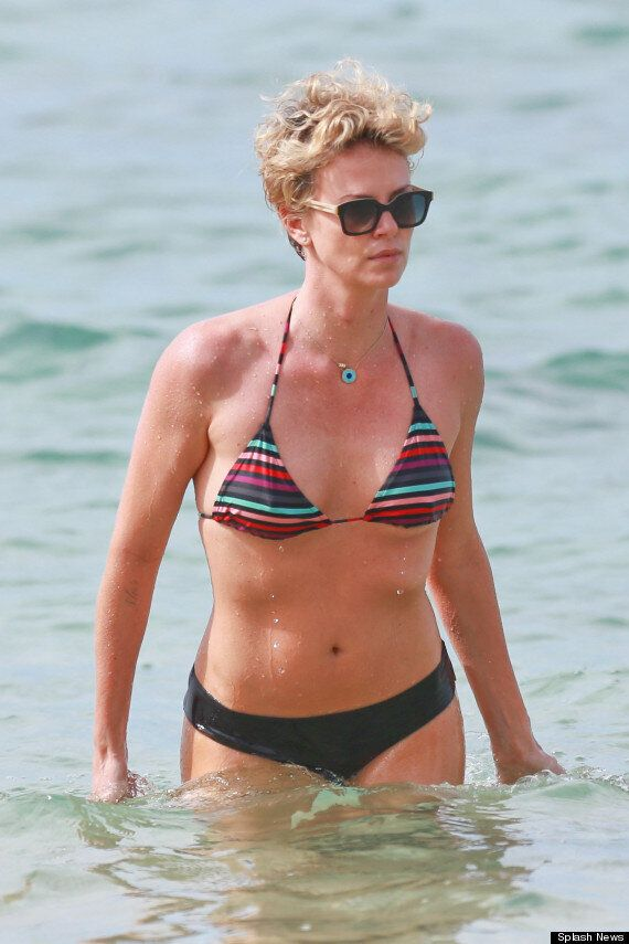 Charlize Theron Shows Off Her Amazing Bikini Body On Winter Sun Holiday To Hawaii