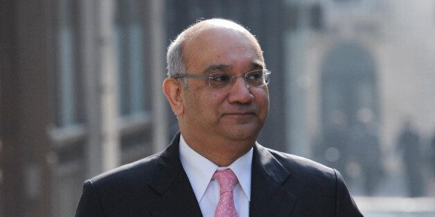 Keith Vaz MP arrives at the Leveson Inquiry into media standards at the High Court in London to listen...