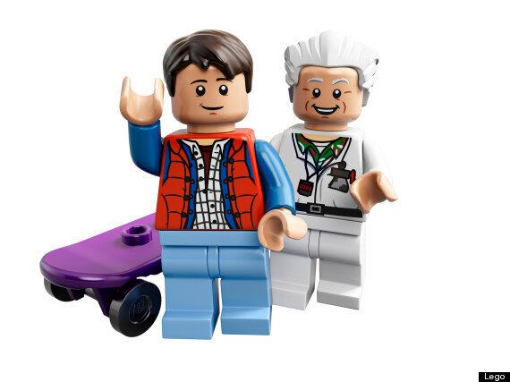 LEGO 'Back To The Future' Time Machine Available In UK