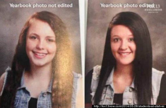 Utah High School Photoshops Female Students' Yearbook Photos To Add More 'Appropriate'