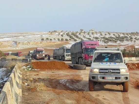 UN Convoy Crosses Conflict Line to Reach Vulnerable Children and Families With Emergency