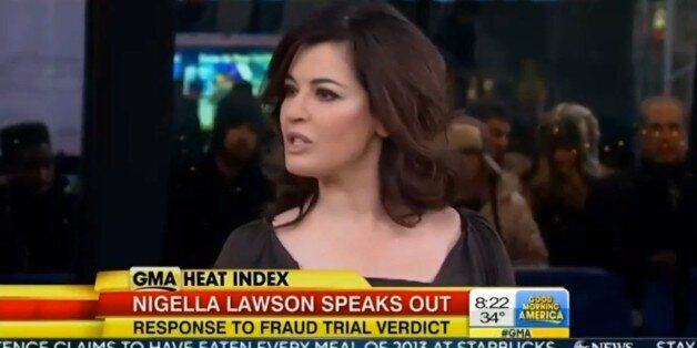 Nigella Lawson: Since Grillo Trial I Have Eaten A Lot Of Chocolate And Had A Good