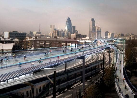 Skycycle Plans For London Unveiled By Architect Lord