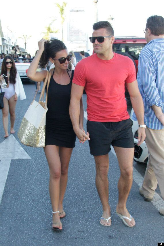Michelle Keegan Escapes 'Coronation Street' Drama In Marbella With Fiancé Mark Wright