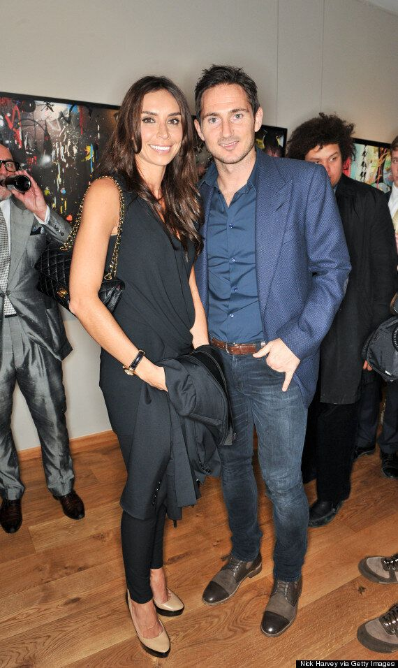 Frank Lampard Says Fiancee Christine Bleakley Is His Best Friend And A Great Step Mum To His Daughters Huffpost Uk