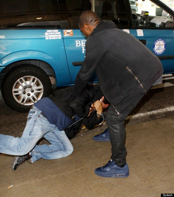 Kanye West Allegedly Attacks Photographer At LAX Airport (VIDEO,