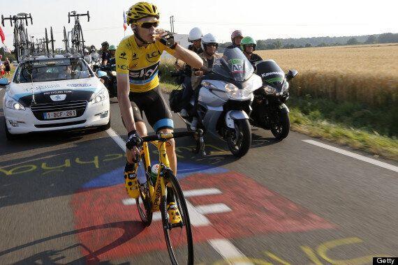 Chris Froome Wins 2013 Tour De France