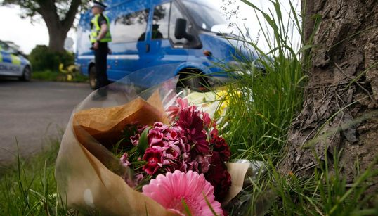 Scottish Police Removing Bodies Of Three Spectators Killed At Jim Clark