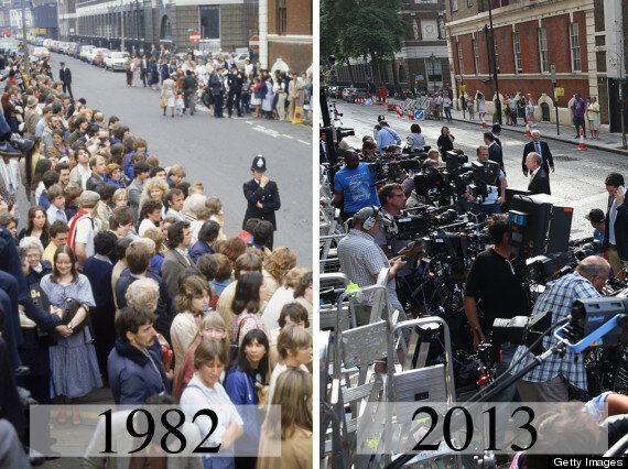 Royal Baby: How The Press Took Over The Streets For
