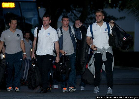 World Cup 2014: England Arrive In Miami Ahead Of Friendlies