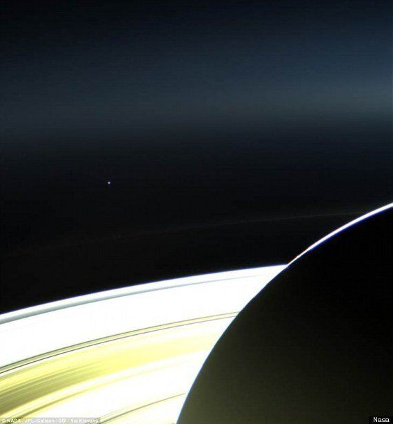 Earth From Saturn Picture By Nasa's Cassini Spacecraft Will Blow Your