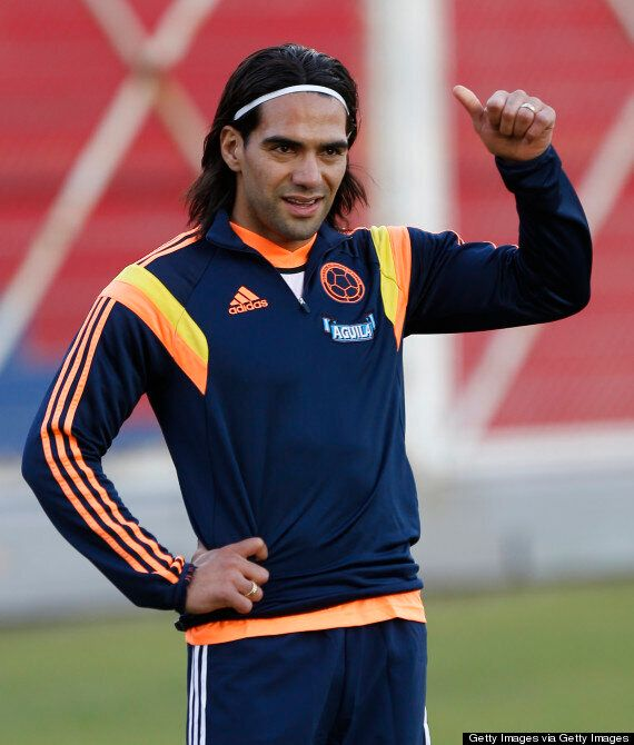 Radamel Falcao Left Out Of Colombia World Cup
