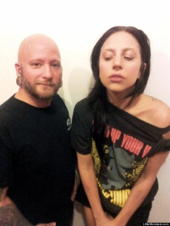 Lady Gaga Gets Nose Pierced As She Completes Gothic Transformation Ahead Of 'ARTPOP'