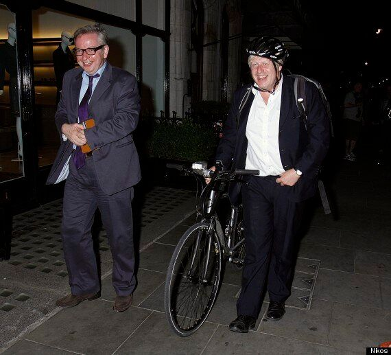 Boris Johnson And Michael Gove Out On The Town
