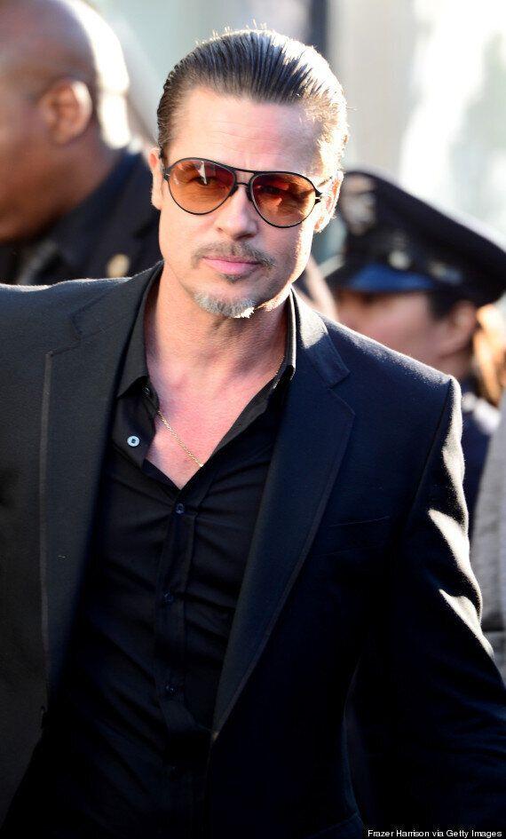 Brad Pitt Labels Prankster Vitalii Seduik 'A Nutter' After 'Maleficent' Premiere
