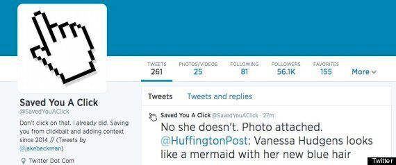 Fed Up Of Clickbait Headlines? Follow The Twitter Account