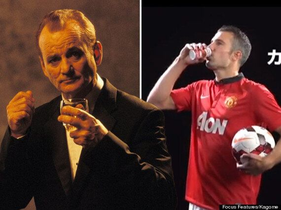 Manchester United Players Channel Bill Murray For Tomato Juice Ad