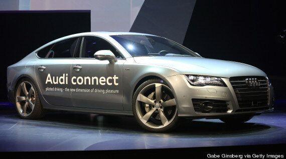 Audi Unveils Self-Driving Concept Car 'A7