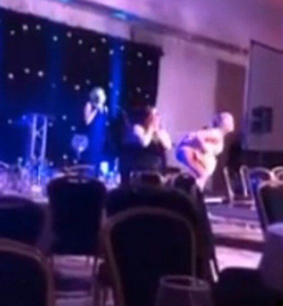 Buttocks Bared & Guest Headbutted At Scottish Hairdressing Awards